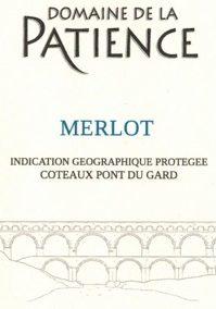 IGP Coteaux du Pont du Gard Merlot rouge  AB
